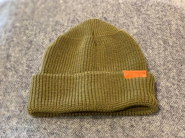 Red Wing 97491 Merino Wool Hat Olive Herren
