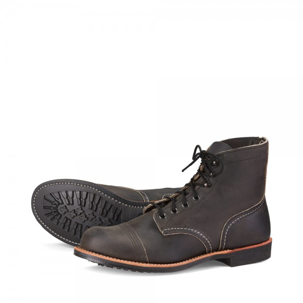 Red Wing 8086 Iron Ranger Charcoal Rough & Tough
