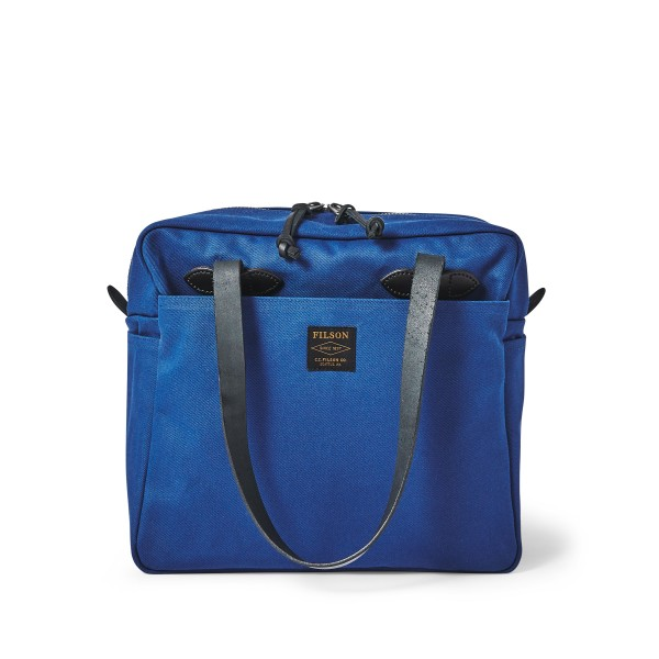 Filson Tote Bag w/ Zipper Flag Blue 20192728