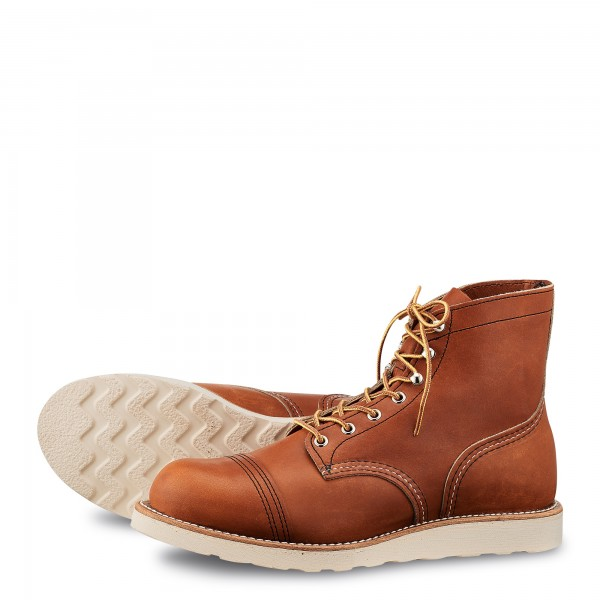 Red Wing 8089 Iron Ranger Traction Tred Oro Legacy