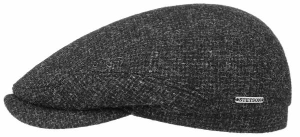 Stetson Driver Cap Wool Charcoal