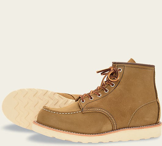 Red Wing 8881 Moc Toe 6 Inch Olive Mohave
