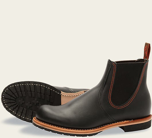 Red Wing 2918 Chelsea Rancher Black Herren