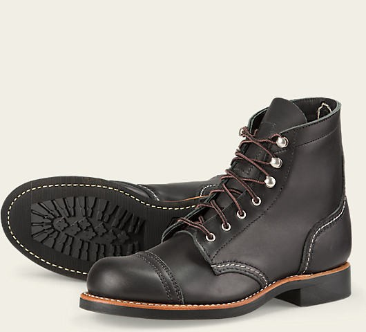 Red Wing 3366 Iron Ranger Black Damen