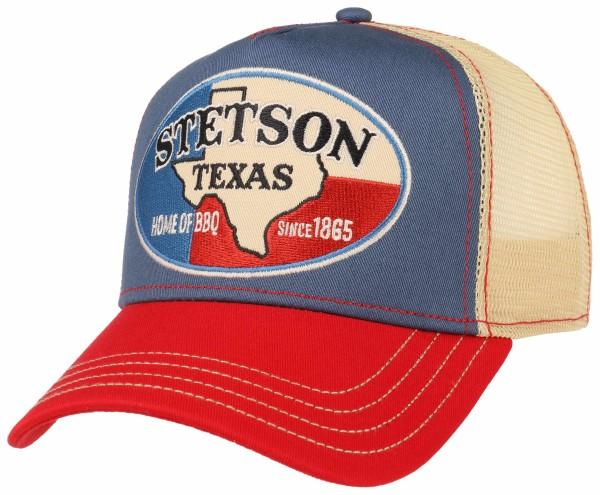 Stetson Trucker Cap Texas Red Blue Herren