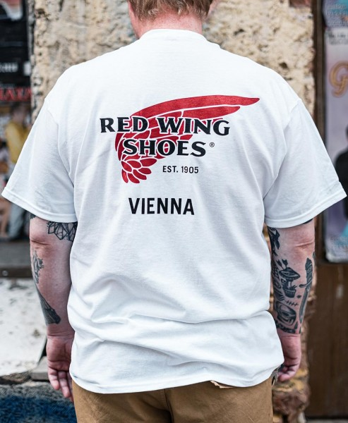 Red Wing Vienna Special T-Shirt White (Limited Edition).