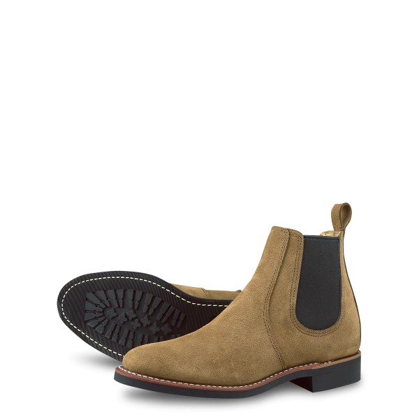 Red Wing Chelsea 3457 Olive Mohave Leather