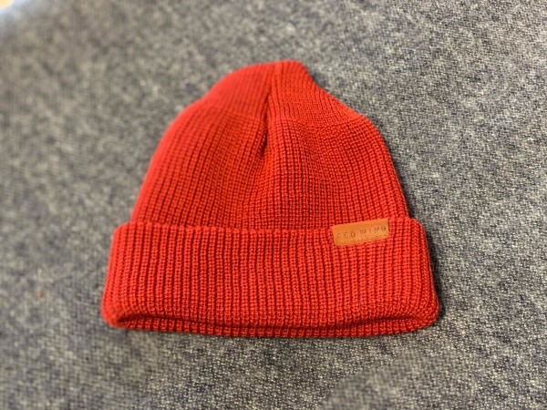 Red Wing 97493 Merino Wool Hat Red