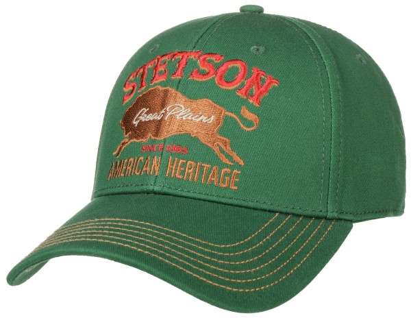Stetson Baseball Cap Great Plains Herren 7781113 4