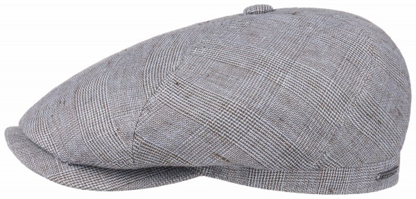 Stetson 6 Panel Cap Linen Grey 6643401 226