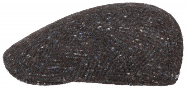 Stetson Ivy Cap Herringbone Grau 6170504 332