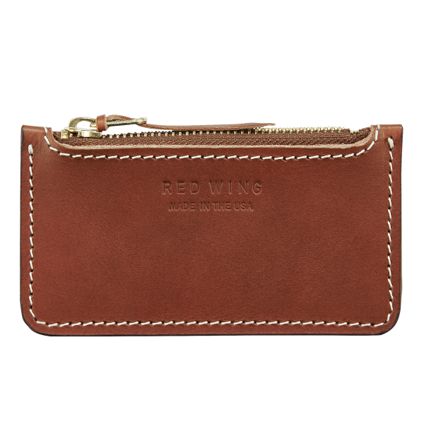 Red Wing 95014 Zipper Coin Pouch Oro Russet