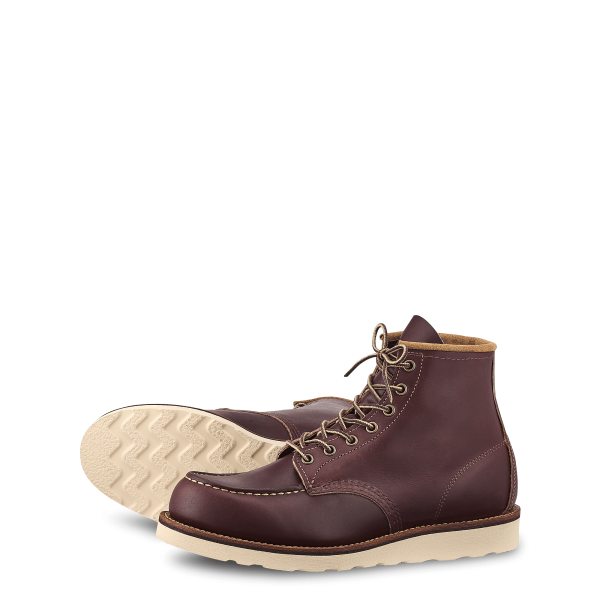 Red Wing Classic Moc 8856 Oxblood Mesa