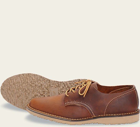Red Wing 3303 Weekender Oxford Copper Herren