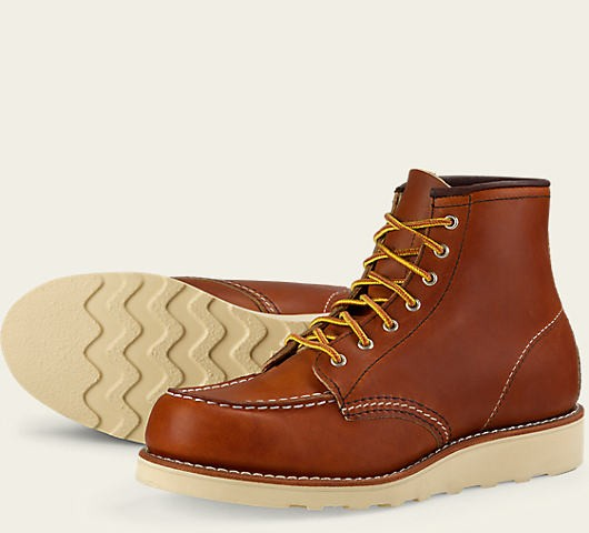 Red Wing 3375 6 Inch Moc Oro Legacy