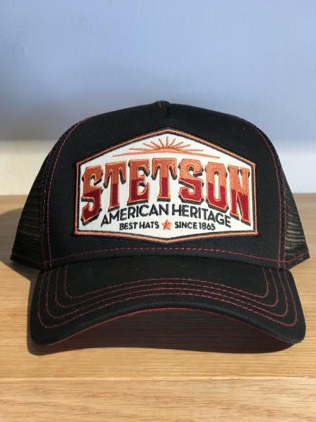 Stetson Trucker Cap American Heritage Black New