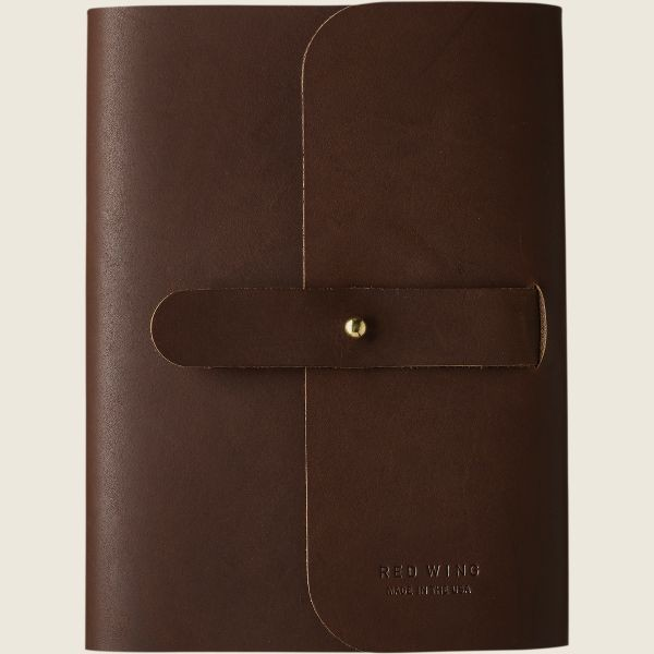 Red Wing 95031 Leather Journal dark brown