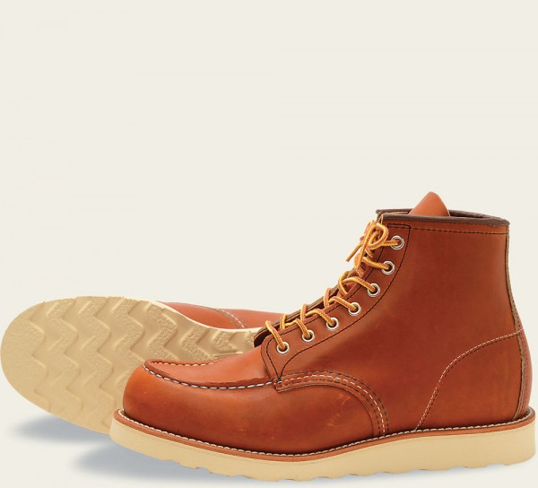 Red Wing 875 Moc Toe 6 Inch Oro-legacy