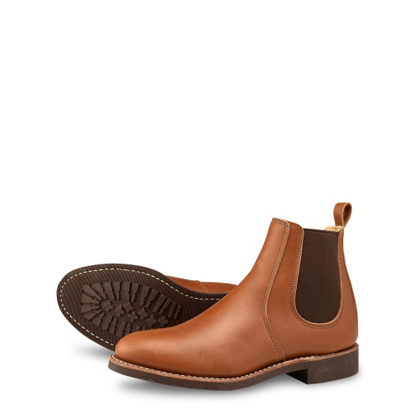 Red Wing Chelsea 3456 Pecan Boundary