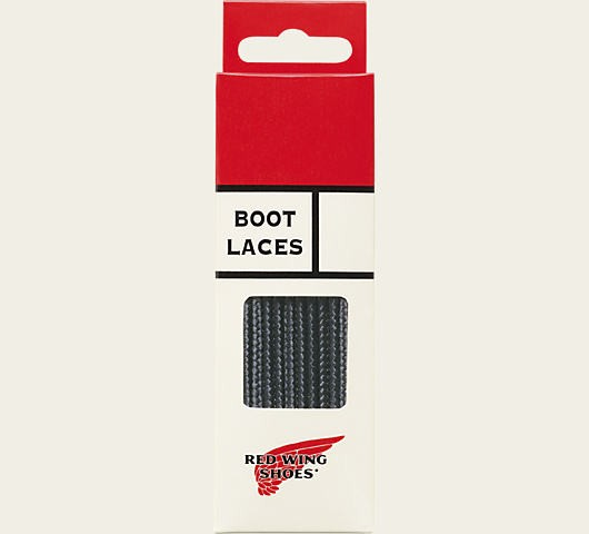Red Wing Boot Laces 48 Inch Taslan Black 97157