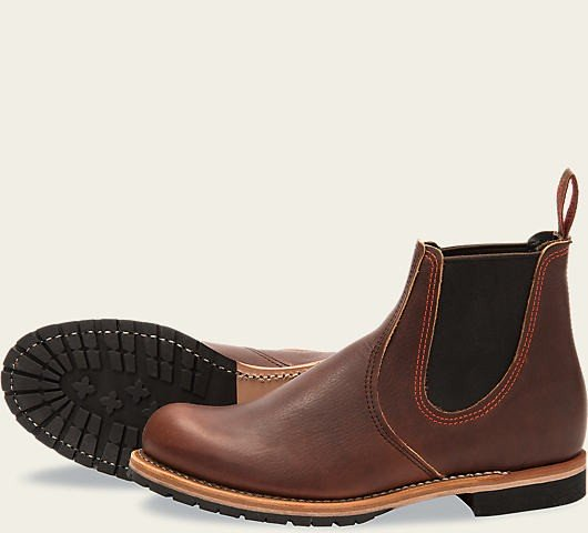 Red Wing 2917 Chelsea Rancher Briar Brown Herren