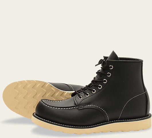 Red Wing 8130 Moc Toe Black