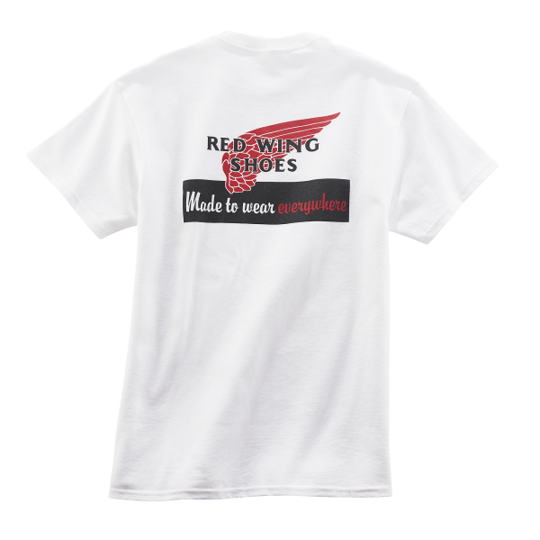 Red Wing 95080 T-Shirt White Herren