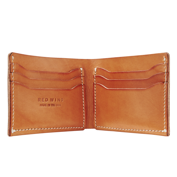Red Wing 95026 Bi-Fold Dual Card Holder London Tan