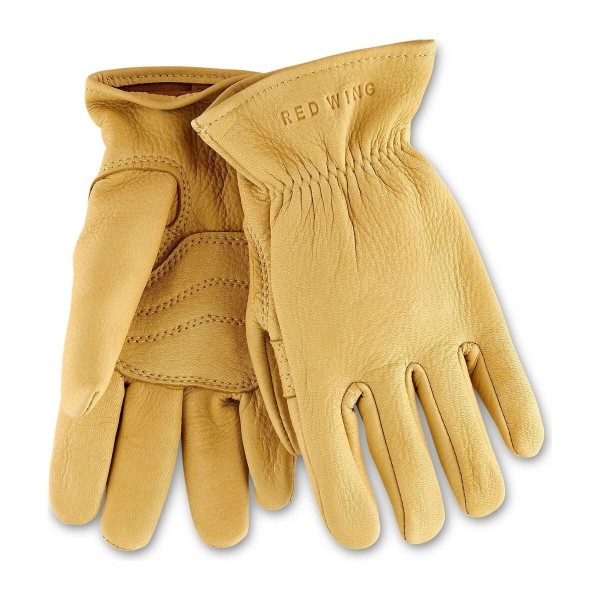 Red Wing 95237 Yellow Buckskin Lined Gloves