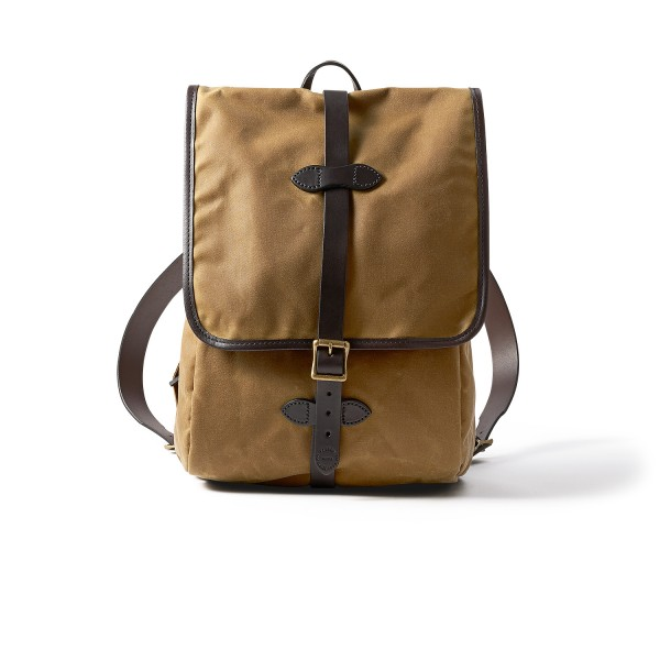 Filson Tin Cloth Backpack Dark Tan