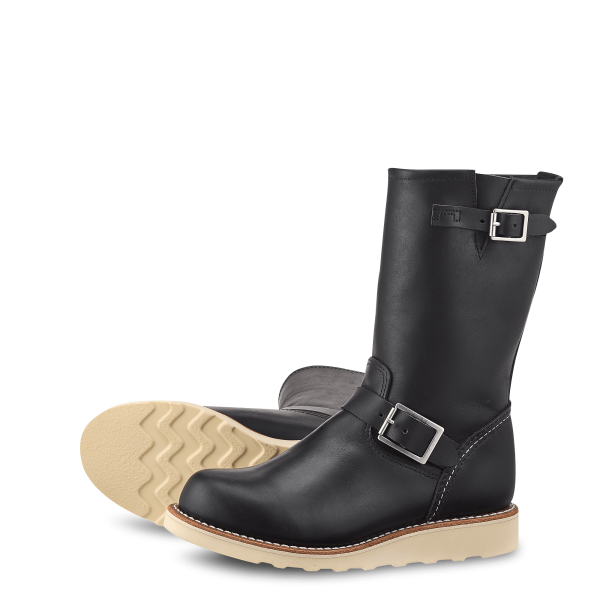 Red Wing Classic Engineer 3470 Black Boundary Damen