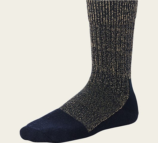 Red Wing Socks Wool Acrylic Navy 97174
