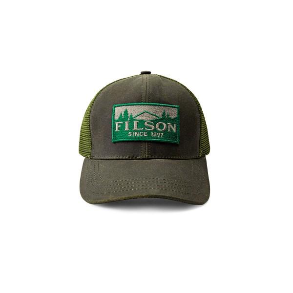 Filson Logger Mesh Cap Otter Green Herren