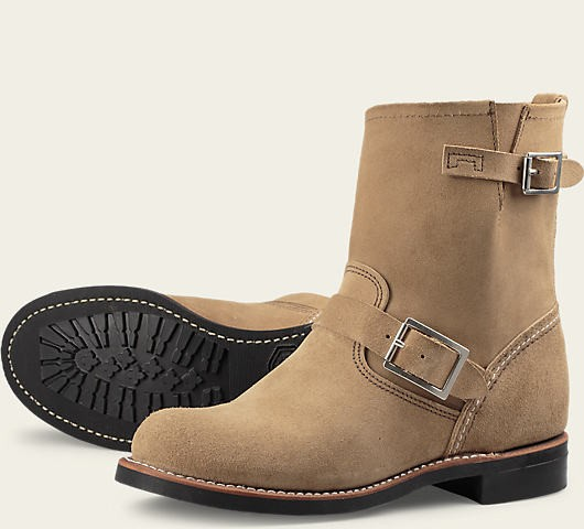Red Wing 3358 Short Engineer Sand Damen
