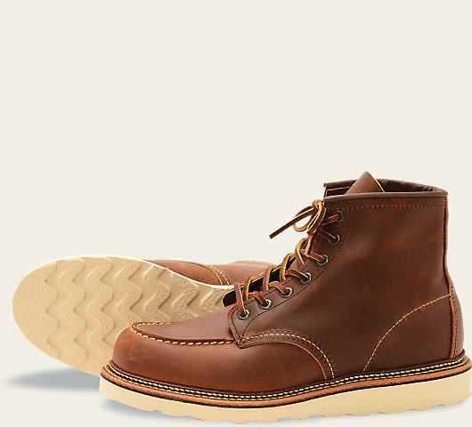 Red Wing 1907 Moc Toe Copper Rough&Tough Herren