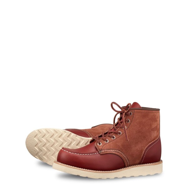 Red Wing Moc Toe 8819 Oro Russet Portage / Abilene Upper Tier