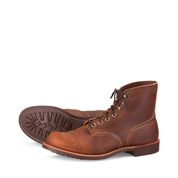 Red Wing 8085 Iron Ranger Copper Rough & Tough