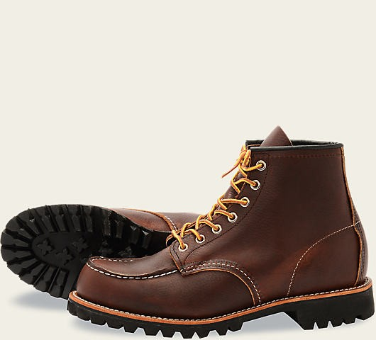 Red Wing 8146 Classic Moc Toe Briar Slick