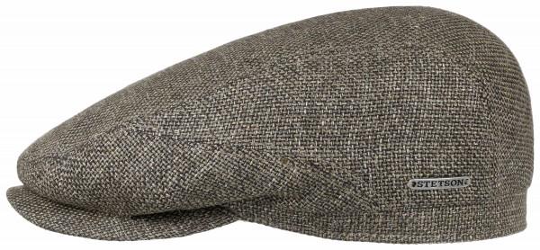 Stetson Driver Cap Virgin Wool Linen Brown Herren 6380107 53