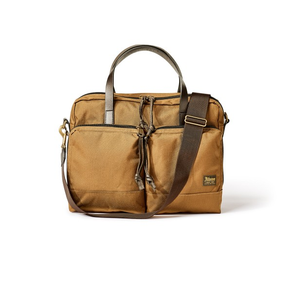 Filson Dryden Briefcase Whiskey Herren