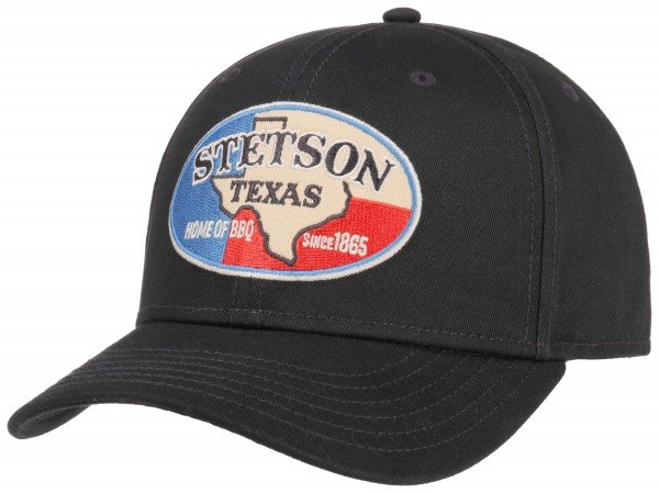 Stetson Baseball Texas Cap Black