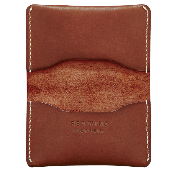 Red Wing 95013 Card Holder Fold Oro Russet