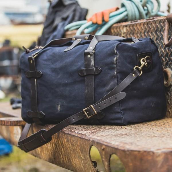 Filson Duffle Bag Medium Navy