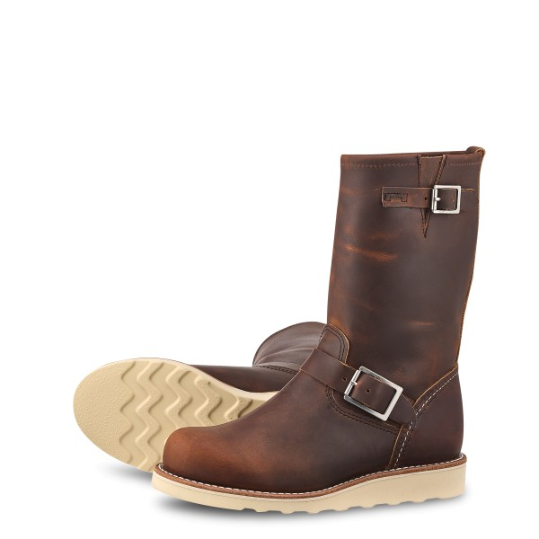 Red Wing Classic Engineer 3471 Copper Rough & Tough Damen