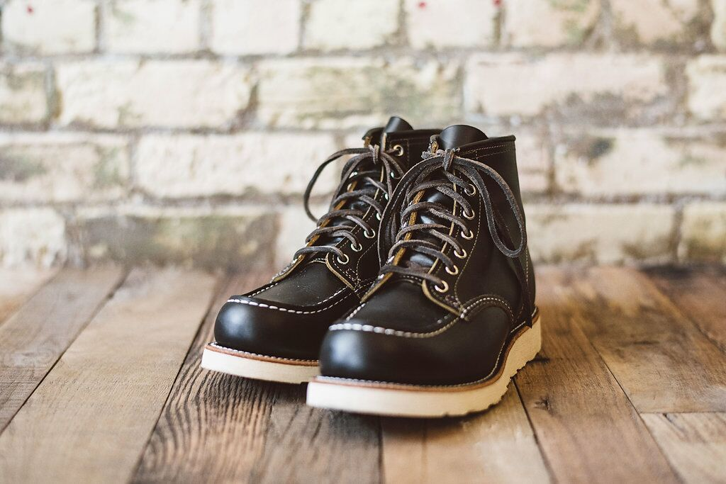 10d83a5bad1 Red Wing 9874 Irish Setter Moc Toe 6 inch black klondike special ...