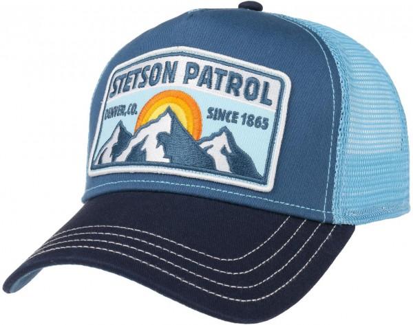 Stetson Patrol Trucker Cap Blau