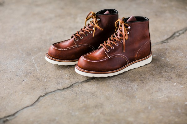 "Red Wing 87519 Moc Toe 6 inch ""Oro-Harness"" Upper Tier Special"