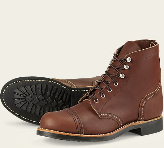 Red Wing 3365 Iron Ranger Amber