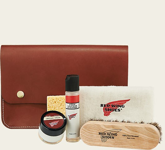 Red Wing 97093 Leather Travel Care Kit