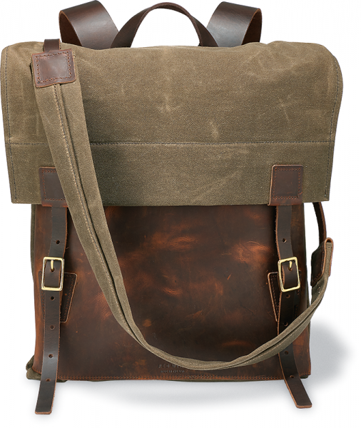 Red Wing 95068 Wacouta Backpack Copper Rough & Tough / Tan Waxed Canvas Unisex